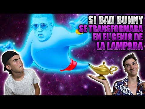 SI BAD BUNNY SE TRANSFORMARA EN EL GENIO DE LA LAMPARA
