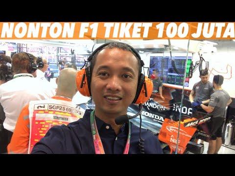 Nonton F1 Ala VIP | VLOG #18