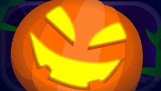 There's A Scary Pumpkin Scary Nursery Rhymes | Halloween Songs For Children & Kids By Haunted House