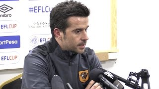 Hull 2-1 Manchester United (Agg 2-3)- Marco Silva Full Post Match Press Conference - EFL Cup