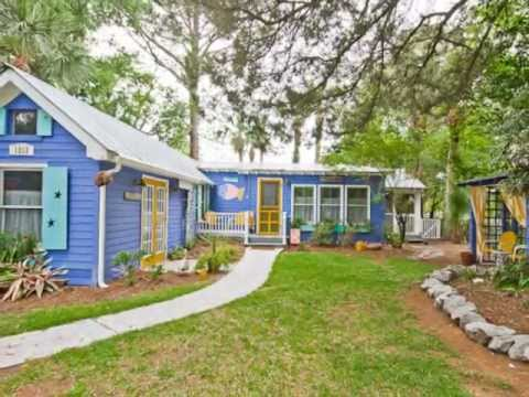 Fish Camp Cottage circa 1924-Mermaid Cottages Vacation Rentals-Tybee Island GA