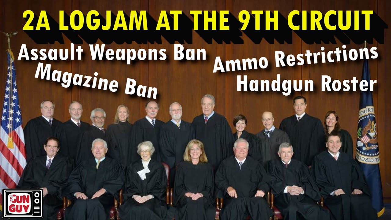 2A Logjam At The 9th Circuit!  What's Up?  - Interview With Chuck Michel