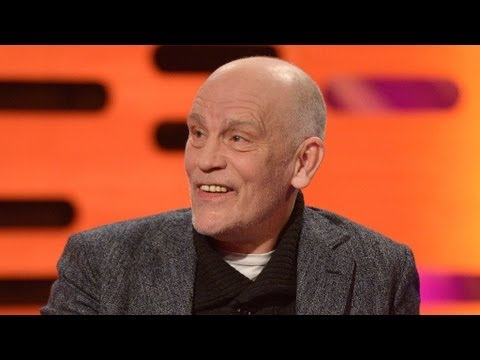 John Malkovich on finding a woman in his garden  The Graham Norton   BBC One