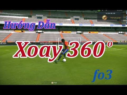 """Hướng Dẫn """"Xoay 360 Độ"""" Trong Fifa Online 3"""