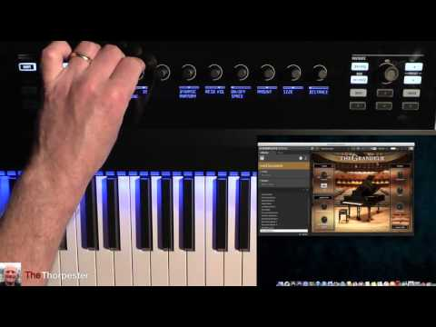 First few hours with Native Instrument's Komplete Kontrol S88 and the Komplete 10 bundle