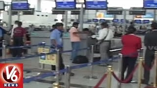 Shamshabad Airport Authority Plans To Set Facial Recognition System For Faster Check-in | V6 News