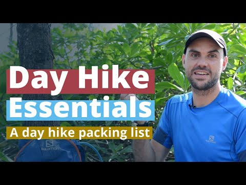 Day Hike Essentials We Carry | A Day Hike Packing List