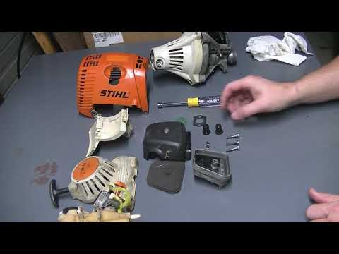 JNH Escapes - Episode 5 - Stihl FS90R Trimmer Rebuild