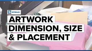 Artwork Dimension, Design Size, and Placement Guide | Craft Corner