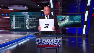 2015 NHL Draft Lottery. Connor McDavid Sweepstakes. April 18th 2015. (HD)