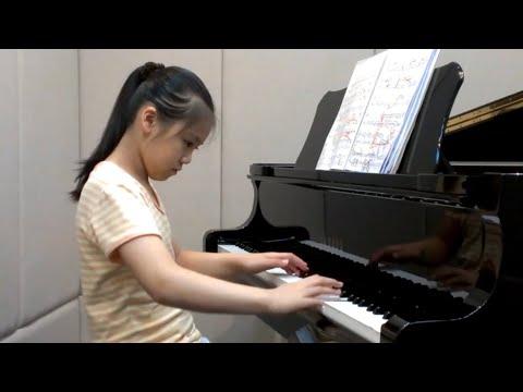 ABRSM grade 8 piano exam pieces runthrough Age 10
