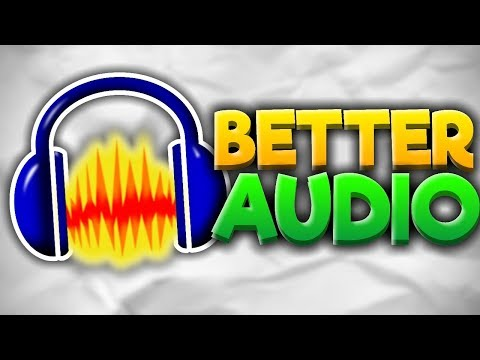 How To Make Your Voice Recordings Sound Much Better - Audacity Tutorial
