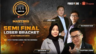 [2019] Free Fire Shopee Indonesia Masters | Loser Bracket D | Semifinal