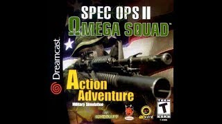 DREAMCAST NTSC GAMES: Spec Ops 2: Omega Squad