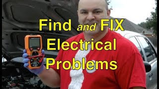 How to find and fix vehicle electrical problems