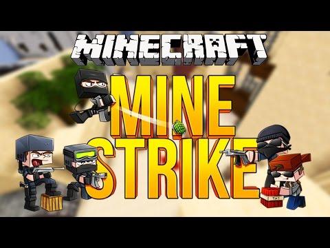 MINESTRIKE! CounterStrike Su Minecraft
