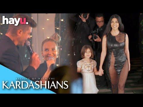Robin Thicke & Sia Sing Happy Birthday To Kourtney | Season 17 | Keeping Up With The Kardashians