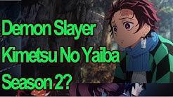 Bekommt Demon Slayer Kimetsu no Yaiba eine Season 2?