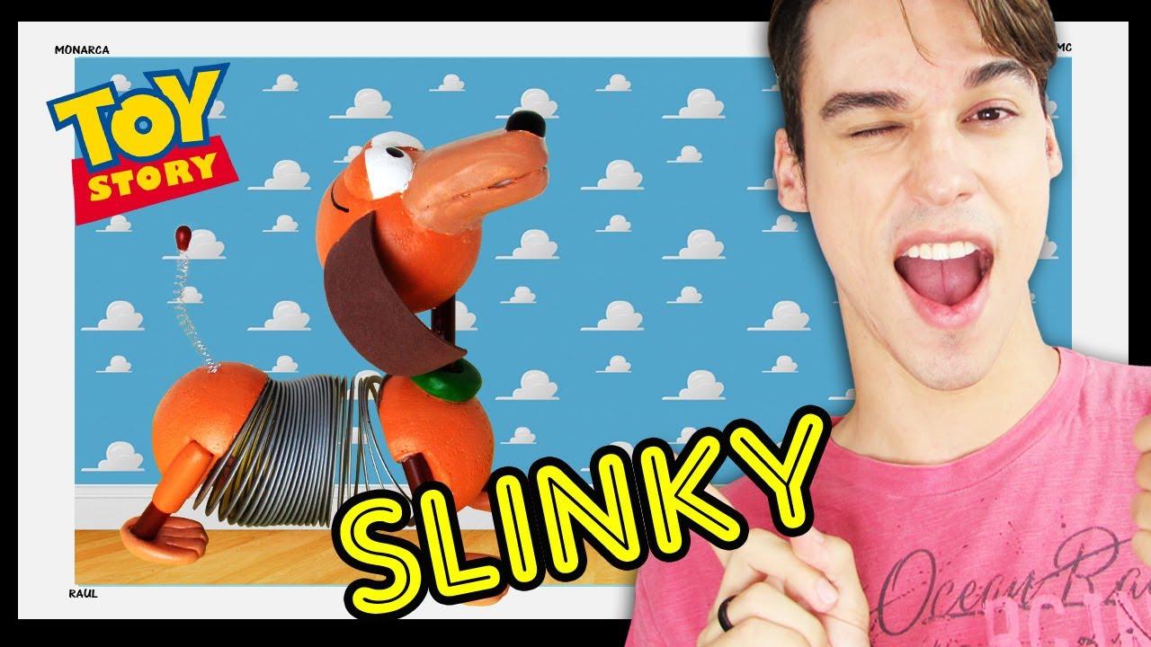 cachorro mola slinky toy story diy canal monarca youtube