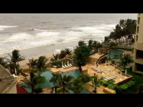 Angry Indian Ocean from JW Marriott, Juhu, Mumbai (7-29-15)