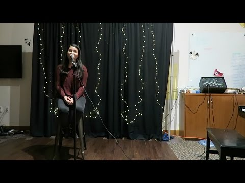 my cafe night performance!