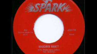 The Robins   Whadaya Want   1955
