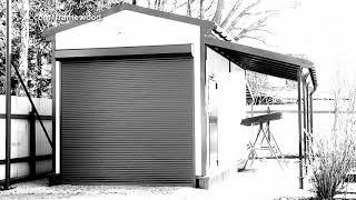 видео Как сделать фундамент для гаража на винтовых сваях
