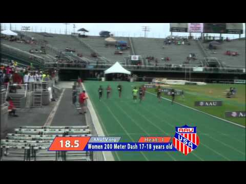 AAU Junior Olympic Games Final Races