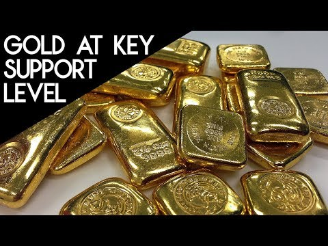 Gold at Key Support, Needs to Hold this Price