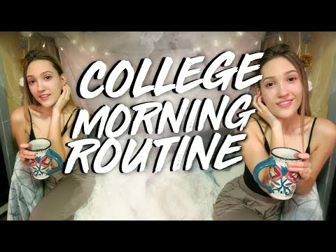 PRODUCTIVE COLLEGE MORNING ROUTINE 2018