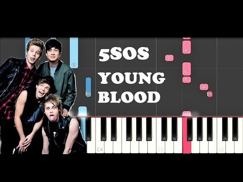 5 Seconds Of Summer  Youngblood Piano Tutorial