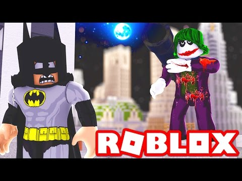 JOKER IN ROBLOX! (Roblox Batman vs Joker)