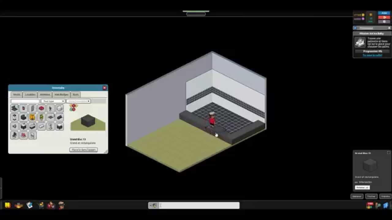 Habbo tuto comment faire une belle salle de bain youtube for Comment faire une salle de bain