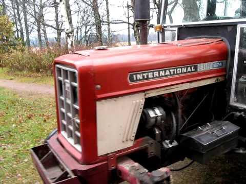 international 674 youtube rh youtube com IH 674 Tractor Industrial Version 674 IH Tractor Specs
