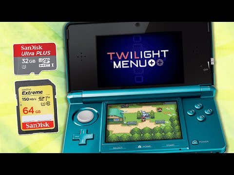 How  To Play Any Nintendo DS Game On Your Old 3DS/2DS & New 2DS Using Your SD Card (Twilight Menu++)