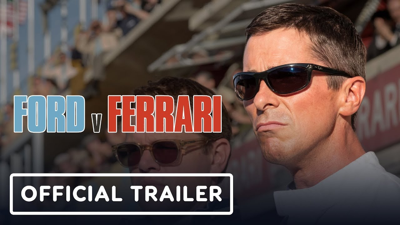 Ford v. Ferrari - Official Trailer (2019) Matt Damon, Christian Bale Video Thumbnail