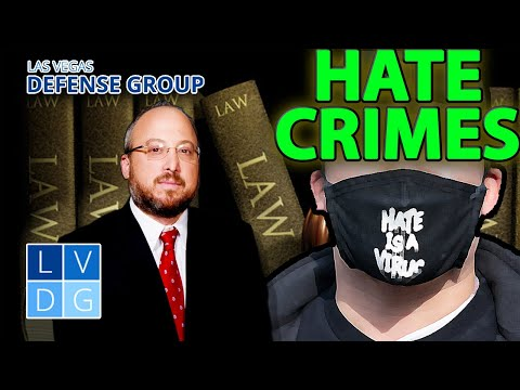 "What is the definition of a ""hate crime"" in Nevada?"