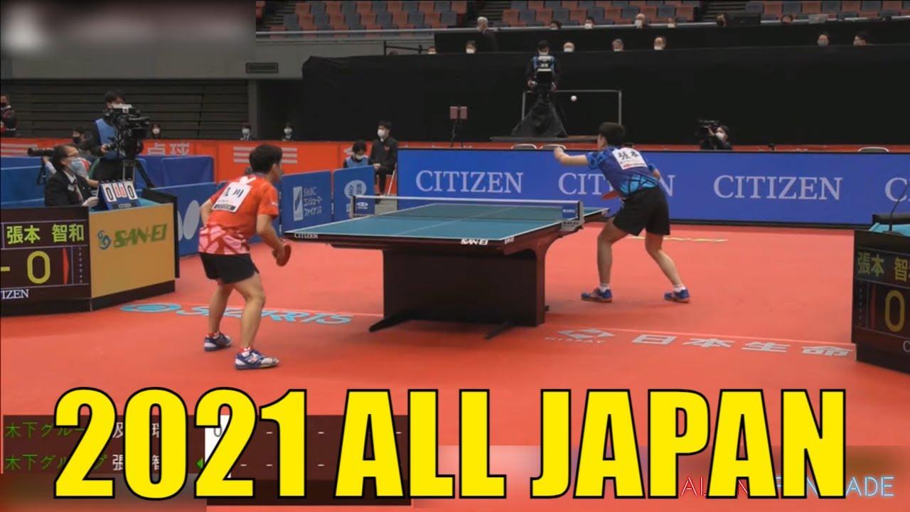 Download Tomokazu Harimoto vs Mizuki Oikawa | 2021 ALL Japan Championships (1/4)