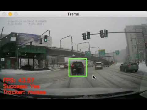 OpenCV Object Tracking - PyImageSearch