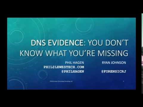 DNS Evidence  You Don't Know What You're Missing