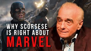 Why Martin Scorsese is Right About Marvel Movies