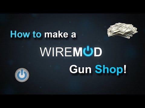 How to make an automatic Gun Shop WireMod | Gmod | DarkRP | AUTOGunShop |  Easy | Simple|