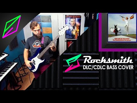 The Rolling Stones - Stray Cat Blues Live (Bass 98%) Rocksmith 2014