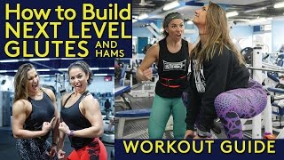 How To Build Next Level Glutes and Hams | Booty Workout | Anastasia Parikos & Connie Slyziut