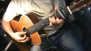Silver Joy (from the movie tumbledown)-Damien Jurado -chords-fingerstyle-cover