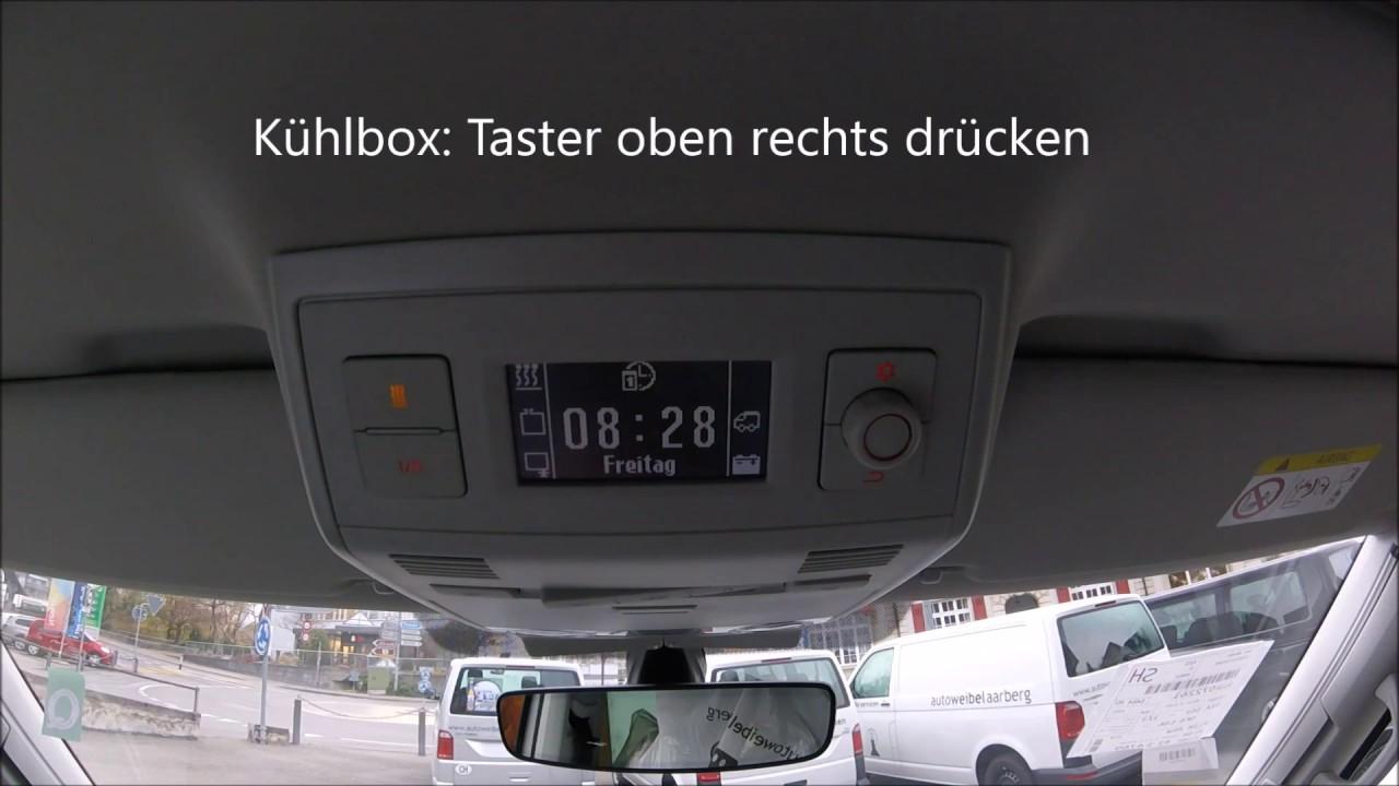 Vw Auto Kühlschrank : Standheizung und kühlbox vw t5 t6 california mit cu youtube