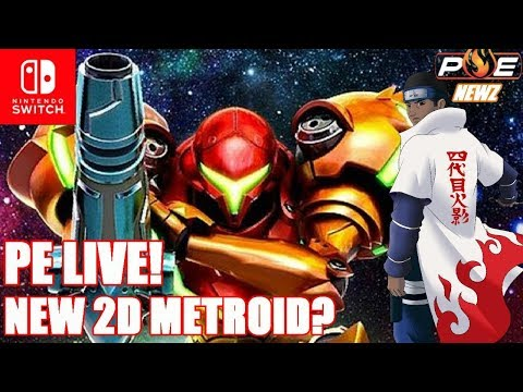 New 2D Metroid Rumors, Switch Tops 110K in South Korea + Q&A!   PE LIVE!