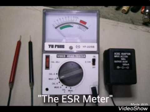 "ESR Meter, ""How to convert Video Head Tester into a ESR Meter?"""