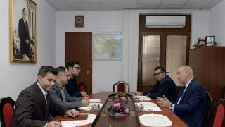 AZERTAC, IRNA discuss expansion of cooperation