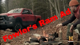 Fowler's 2017 Ram 2500 Power Wagon Ad for History and Alone